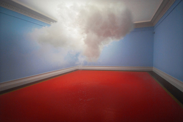 Nimbus, 2010 Cloud in room Digital C-type Print , 75x112 cm Probe#6, Suze May Sho, Arnhem