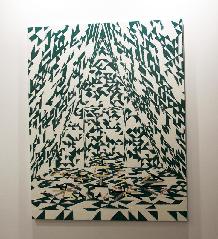 Farah Atassi Tabou III, 2013 Galerie Xippas