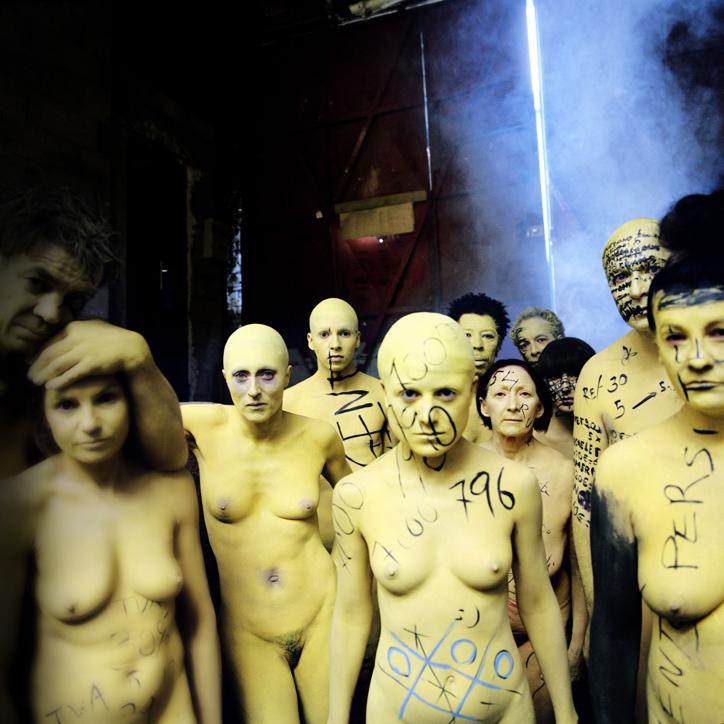 POLE EMPLOI Ego Factory 2012 photo en digigraphie montée sur alu,plastifiée 100x100