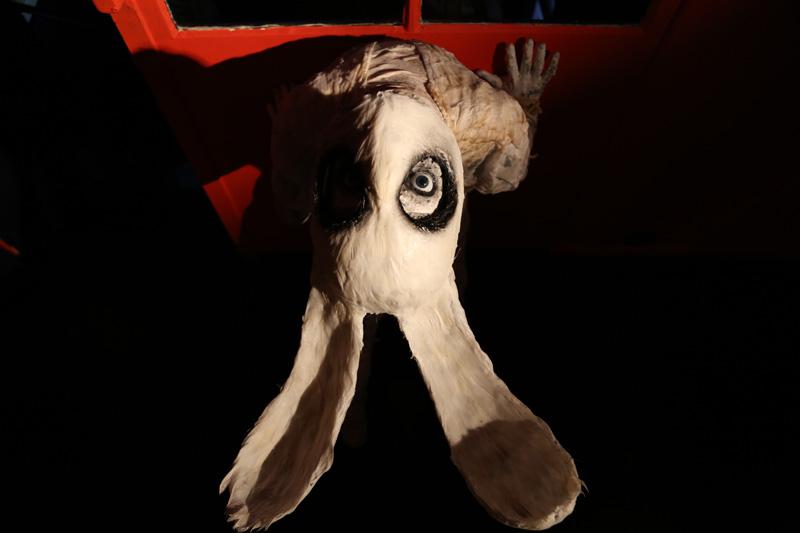 Paul Toupet - face au mur- courtesy de l'artiste et de la galerie da-end- copyright artefact photography