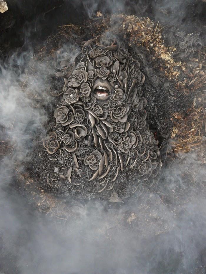 Lidia Kostanek- Ashes to ashes - cuisson Raku